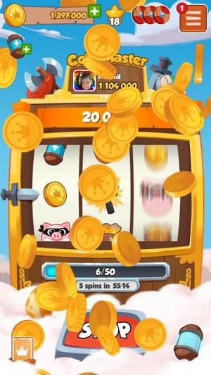 Coin Master slot machine