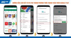 Liên kết VTC Pay với Google Play