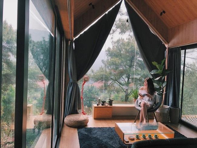 review nhà trong rừng u lesa